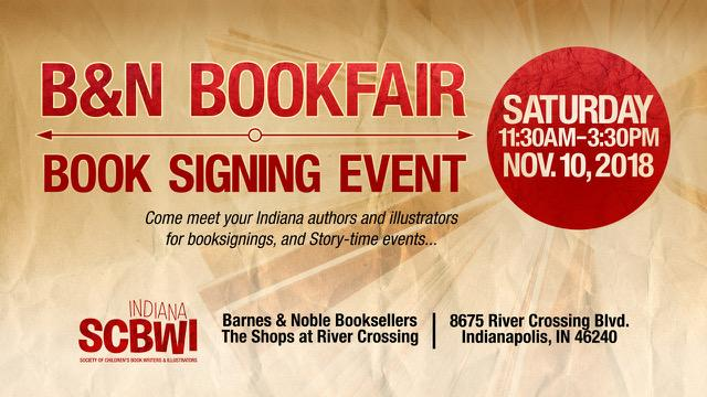 Please come and support our PAL members! Contact Sharon Vargo for more information. Indiana-ic@SCBWI.org.