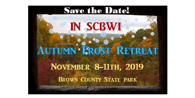 November 8-11, 2019 Autumn Frost Retreat Brown County State Park, Abe Martin Lodge, Nashville, Indiana P.O. Box 547 Nashville, IN 47448   Registrations opens September 1st!   Click HERE for the interesting history of the Abe Martin Inn.   Join us for our first annual Autumn Frost Retreat, nestled in the woods of Brown County State Park. Come ready to write, draw and relax in your coziest sweater, while getting to know our new Indiana Regional Team; RA Angie Karcher, ARA Diane Bradley and IC Teresa Robeson, PLUS... Our Faculty: Executive Editor Mary-Kate Gaudet with Little Brown Books for Young Readers Agent Dawn Frederick with Red Sofa Literary Agent Natascha Morris with Bookends Literary Author/Illustrator and SCBWI Board Member Pat Cummings Librarian Sandra Farag with Ingram Indiana Author Natalie Davis Miller Author Lola Schaefer Shirley Mullin with Kids Ink Bookstore *Session Descriptions coming soon.    This is our conference room. It was once the entrance to the Inn and is book-ended by two gorgeous stone fireplaces.   PLUS sign-up for paid critiques with faculty. We're also offering remote/face-to-face, portfolio and manuscript critique (Zoom meetings/phone calls) with 2 editors, 2 agents and 4 art directors from the retreat.     Our favorite spot by the fire where we planned this retreat!   When we're not working, join us for: A wine and cheese gathering on the covered patio on Friday night. Costume Contest and Open Mic on Saturday night. KidLit Cab Team Trivia Game on Sunday night. Monday Intensives, plus stay a few extra days at the lodge or in a rustic cabin on the lake to reflect and create.   Registration Opens September 1, 2019 at www.indiana.scbwi.org We will offer SCBWI discounts on lodging so don't book your rooms yet.     There are miles of trails for hiking so bring your walking stick.     Enjoy the blazing fireplaces on the cool November evenings.     Bring your guitar so we can sing by the campfire while roasting marshmallows. See you this fall!