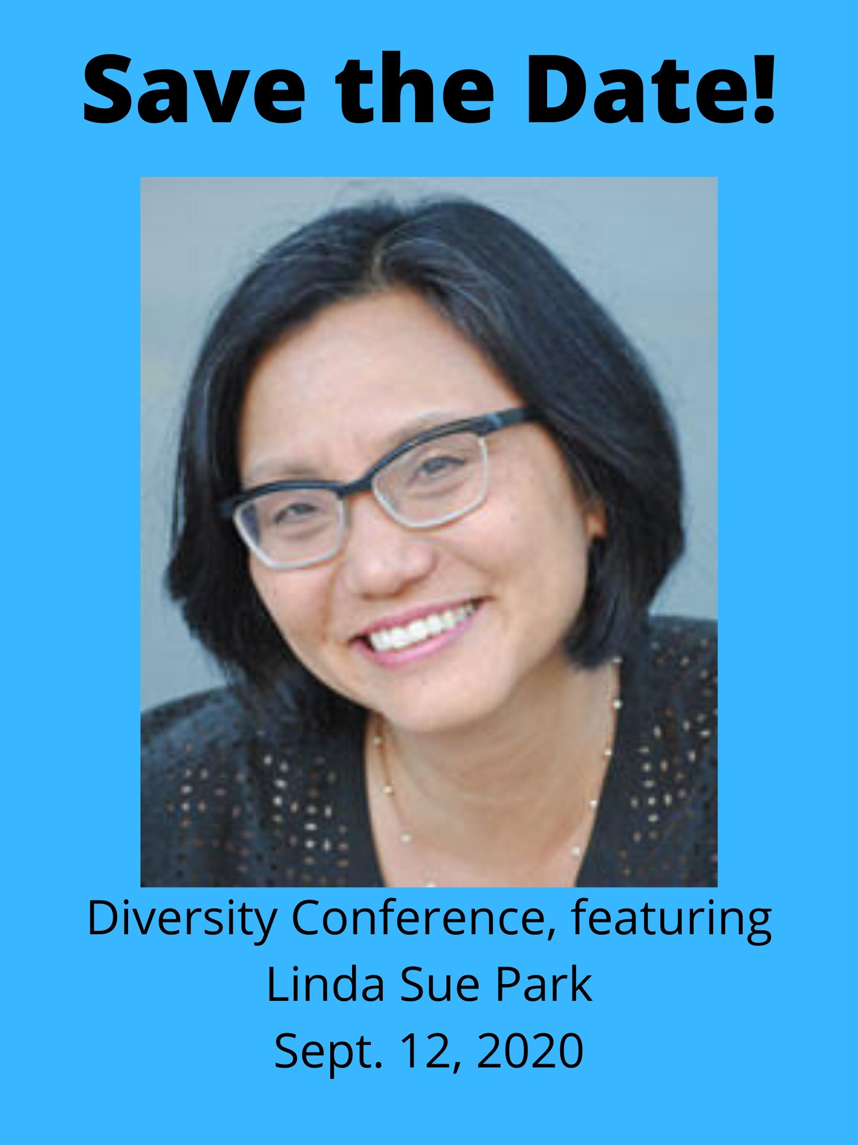 September 12th - Diversity Day with author Linda Sue Park, editor Kandace Coston, Lee & Low, Kim Childress, product developer/freelance editor and author and IN-SCBWI Diversity Coordinator Natalie Davis Miller Zoom Webinar OPEN TO EVERYONE anywhere SCHOLARSHIPS AVAILABLE Click here for details and registration!