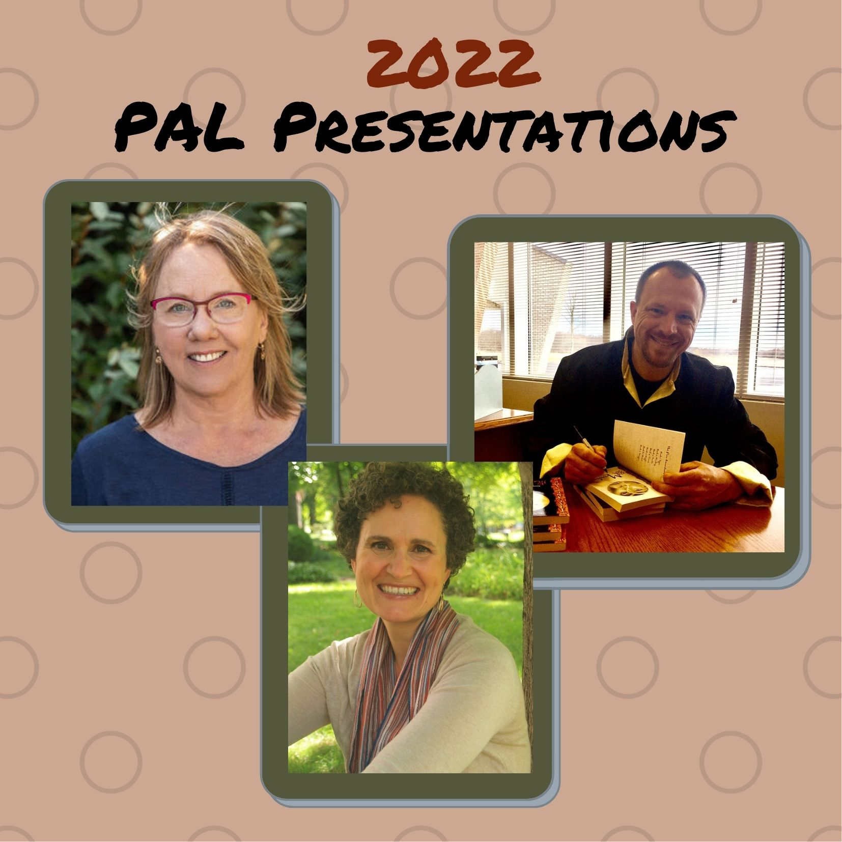 Due to the popularity of the 2021 PAL Presentations, and thanks to another generous grant from SCBWI, we are please to offer another set of these free-to-all-SCBWI-members webinars (and only $10 for non-members)! This round, we have the following wonderful creators on these dates: Sharon Vargo, author-illustrator - March 5, 2022 Jeff Stone, author, MG & YA - June 11, 2022 Janna Matthies, author, PB - August 27, 2022 Join us!