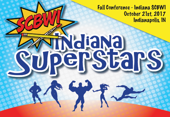 Come enjoy a fantastic line-up of some of our very ownIndiana SCBWI Superstars!Our sessions will include learning opportunities for both authors and illustrators,with faculty sharingabout Picture Book writing and illustrating, Young Adult writing, Platform Building, School Visits, Poetry writing, Christian Market writing, and more! Superstars Conference Bonus:This conference ispacked full of breakout sessions and critique slots! Critiques are available for anyone who wants one, andif you are getting a critique, you will have the opportunity to have your critique andalsoattend 5 break-out sessions! If you do not do a critique, then you can squeeze in 6 break-out sessions! We are also offeringprofessional headshot photo sessionsthroughout the day and aconference book store. Early bird registration opens August 1st! Regular registration begins September 1st and closes October 10th. Clickhereto register. Location Info: Brooks Elementary School 12451 Brooks School Road Fishers, Indiana 46037 Price list: $90 - early bird member $115 - early bird nonmember $115 - regular registration member $140 - regular registration non-member $25 - Portfolio and Manuscript Critiques (15 minutes)  Indiana Superstars Fall Schedule*: 8:30-9:00Registration (coffee and refresments provided) 9:00-9:15Welcome and opening remarks 9:15-10:00- Break out sessions 10:10-10:50- Break out sessions 11:00-11:45- Break out sessions 11:45-12:45- Lunch (included in cost) 12:45-1:30- Break out sessions 1:40-2:25- Break out sessions 2:35-3:20- Break out sessions 3:30-4:15- Closing remarks, door prizes, faculty book signing *Schedule subject to change Bookstore - Hosted by Kids Ink The bookstore will be open Saturday during the conference to purchase books by our speakers and PAL members. If you are a PAL (Published And Listed) member of SCBWI attending the conference, you may submit one PAL book title for sale at our conference bookstore. Please email your PAL title and its ISBN# bySeptember 1stto: Sharon V